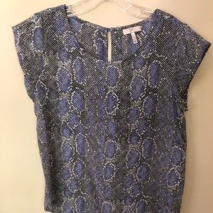 JOIE purple sleeveless blouse XS.